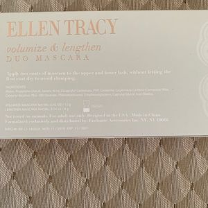 Ellen Tracy Makeup - ELLEN TRACY Duo Mascara